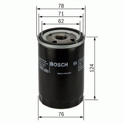 Купить запчасть BOSCH - 0 451 103 340 Масляный фильтр