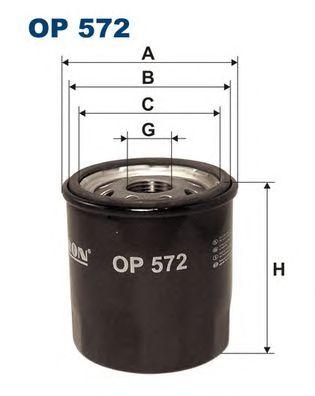 Купить запчасть FILTRON - OP572 Масляный фильтр