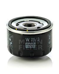 Купить запчасть MANN-FILTER - W 75/3 Масляный фильтр